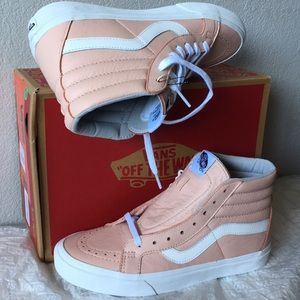 VANS Sk8-Hi Reissue Leather Oxford Evening Sand8.5
